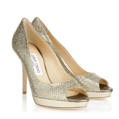 136092478 Jimmy Choo Luna Peep Toe Pumps - KEEPING IT FABULOUS