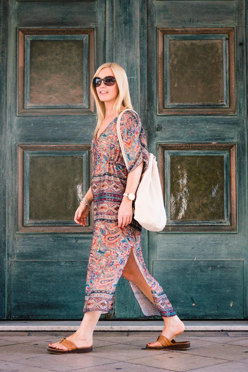 fblogger-wearing-zara-kaftan